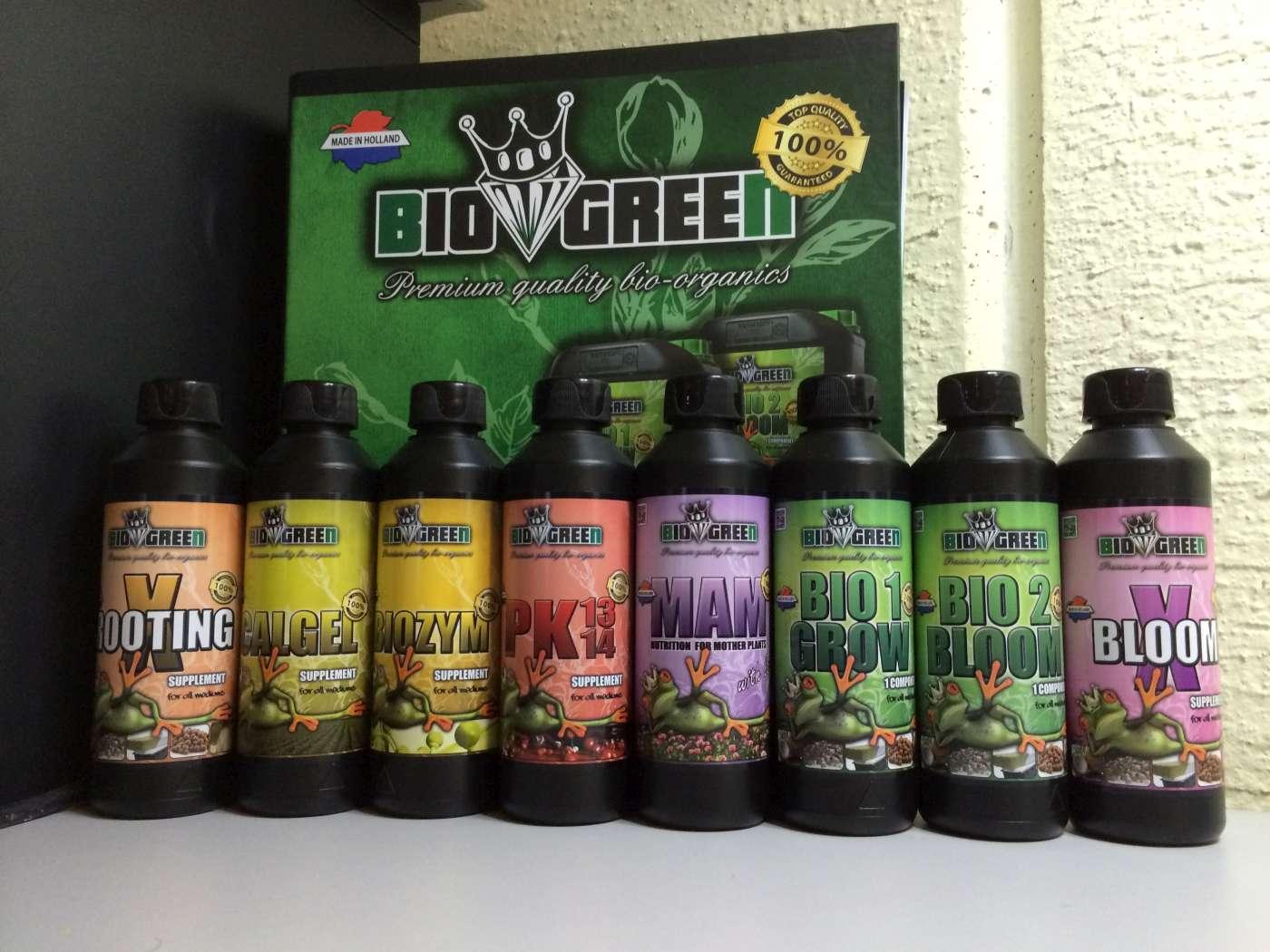 photo gamme bio green gamme