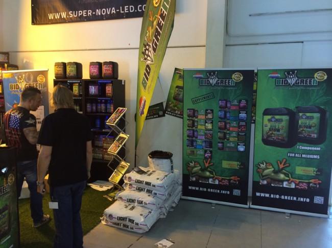 Stand Bio Green Expogrow 2014