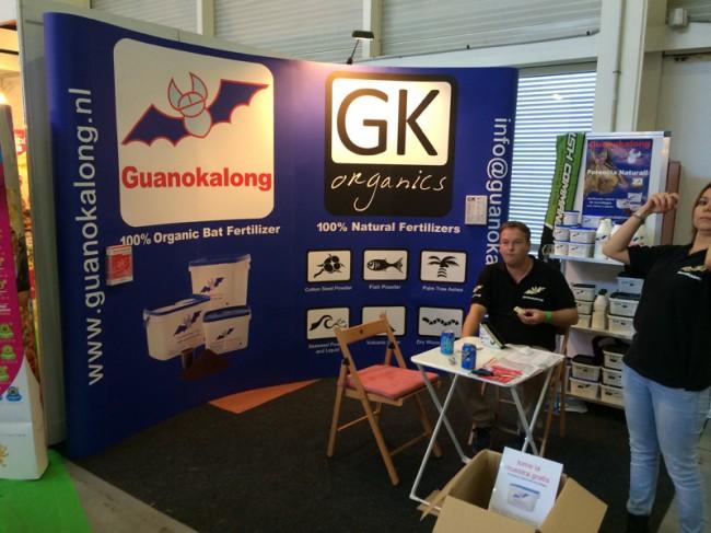 Stand Guanokalong Expogrow 2014