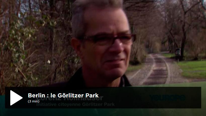 tolérance zéro dès le mois d'avril dans le parc du Görlitzer