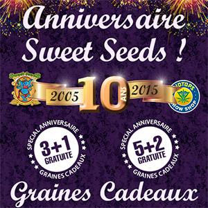 graines Sweet Seeds en cadeau