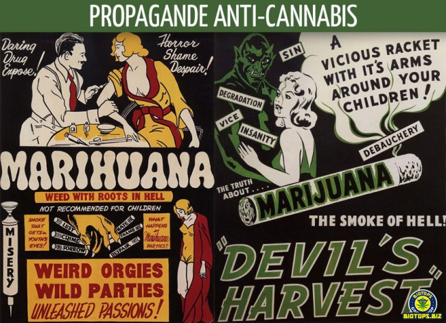 le baratin anti-cannabis