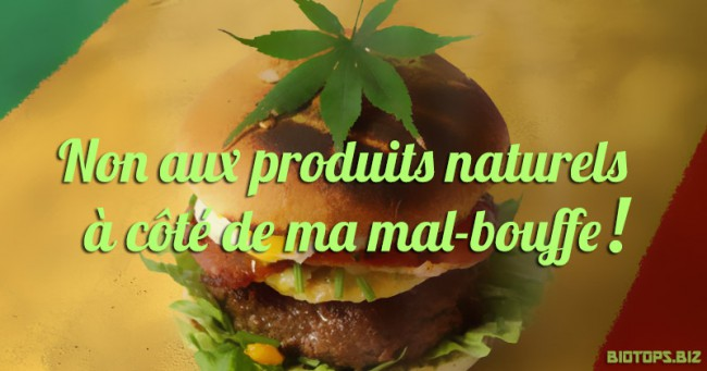 un dispensaire de cannabis à côté d'un fast-food