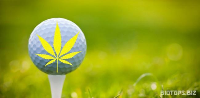 Posséder de l'herbe sur un tournoi de golf
