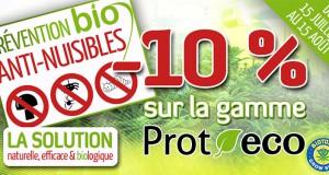 - 10 % sur les produits Prot-Eco chez Biotops.biz
