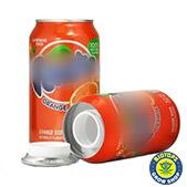 boite secrète soda orange