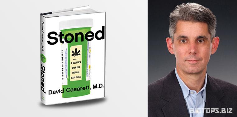 Dr. David J. Casarett auteur du livre Stoned traitant du cannabis médicinal