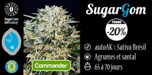 SugarGom en promo chez Biotops.BIZ