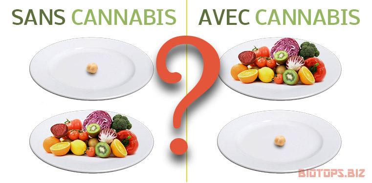 Le cannabis et les troubles de l'alimentation