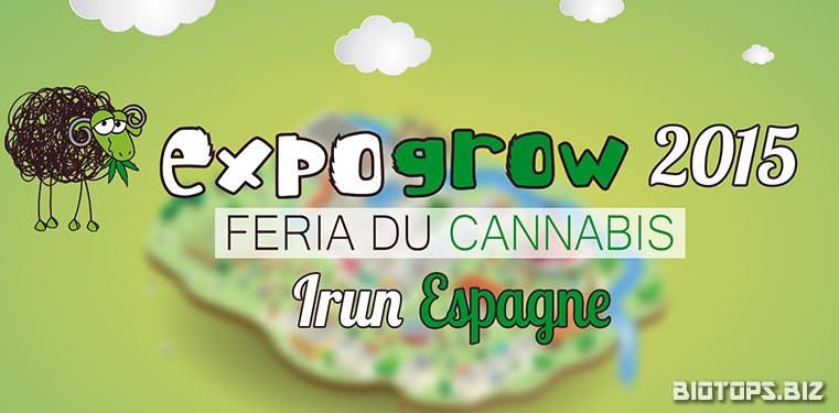 Expogrow 2015 - 4 édition du salon du cannabis à Irun (Espagne)