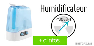 Humidificateur pour culture de cannabis