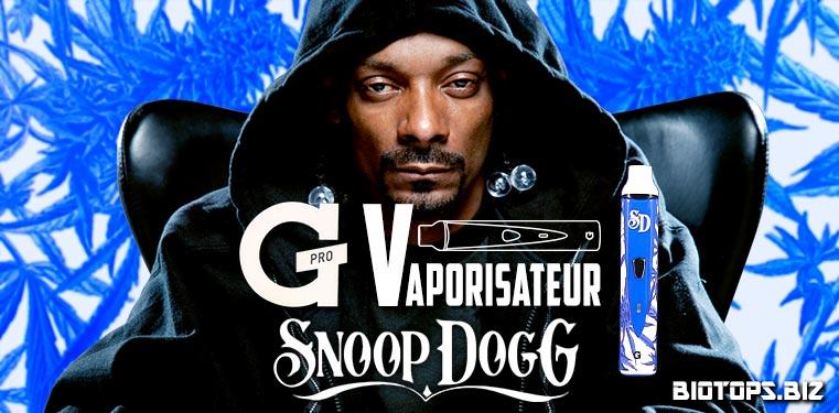 G Pro le vaporisateur de Snoop Dogg
