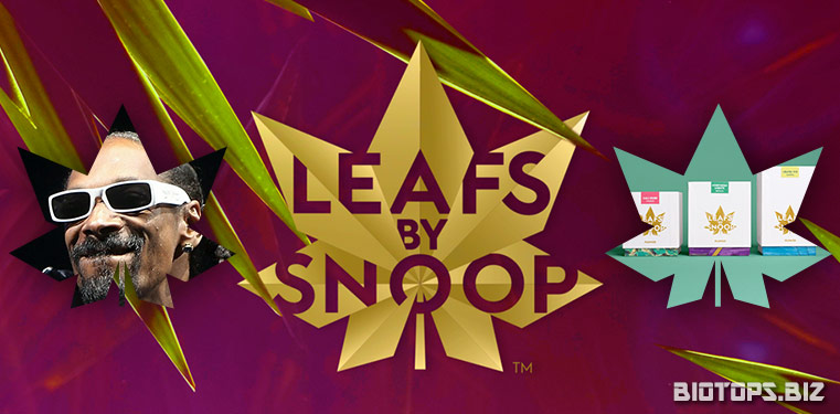 Leafs by Snoop, la marque de cannabis signée Snoop Dogg