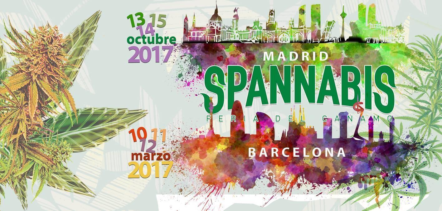 Spannabis 2017 à Barcelone du 10 au 12 mars