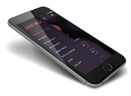 Interface de l'application DAVINCI